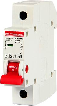 Выключатель нагрузки на DIN-рейку e.is.1.50, 1р, 50А