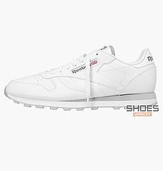 Мужские кроссовки  Reebok Classic Leather White 2214