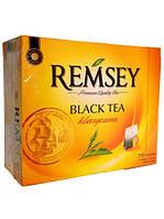 Чай черный в пакетиках в ассортименте Ramsey (Польша) 75пак.