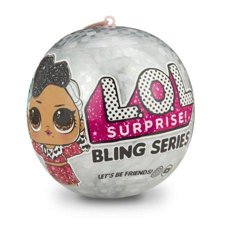 LOL Surprise Bling Series. Новорічна серія лол. Оригінал