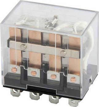 Реле промежуточное e.control.p1042, 10А, 12В AC, на 4 группы контактов
