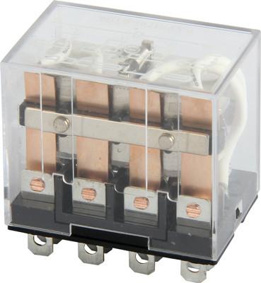 Реле промежуточное e.control.p1046, 10А, 220В AC, на 4 группы контактов