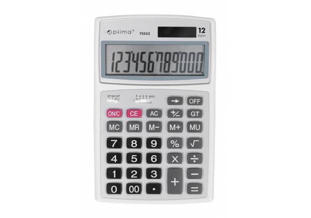 """Калькулятор """"Optima"""" настольный 12 разрядов (179*116*35) O75522, фото 2"""