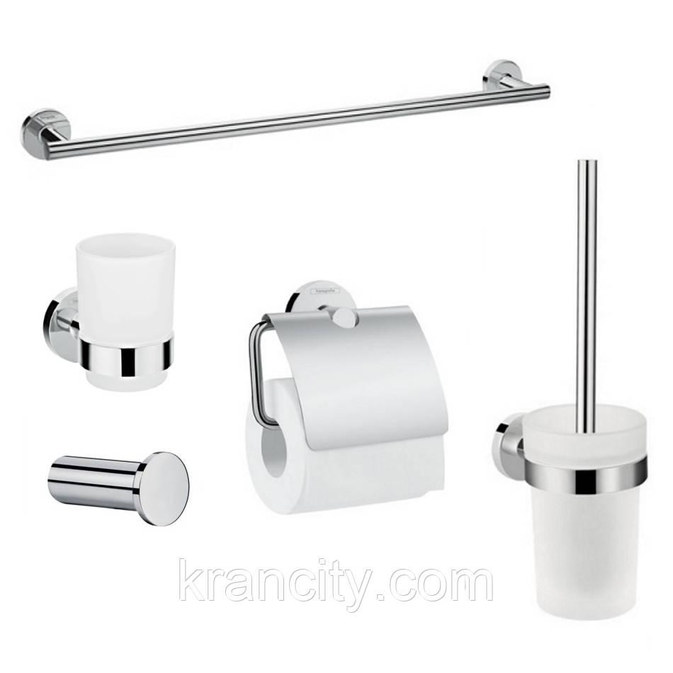 Набор аксессуаров для ванной Hansgrohe logis, 41723222