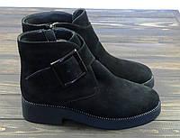 Зимние модные ботинки замшевые Anna Lucci