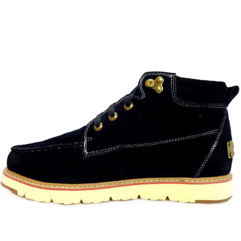 Угги мужские UGG David Beckham Boots, Замш (черные) Top replic