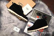 Угги мужские UGG David Beckham Boots, Замш (черные) Top replic  , фото 3