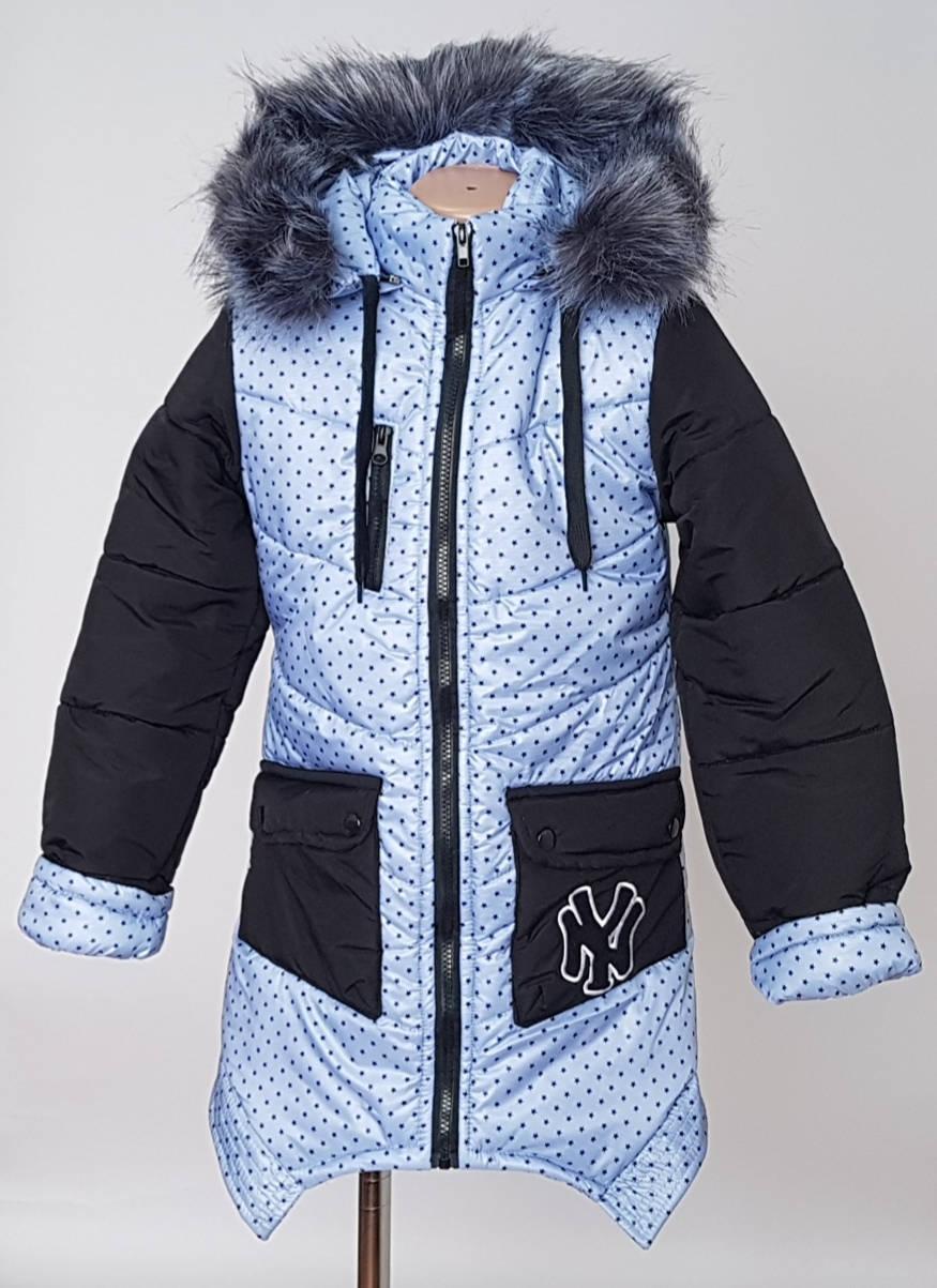 Зимняя курточка для девочек с подстежкой