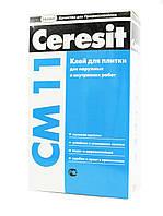 Клей для керамічної плитки Ceramic CERESIT СМ-11, мішок 25 кг