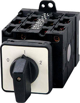 Пакетный переключатель в корпусе e.industrial.sb.0-1-2.3.20, 3р, 20А (0-1-2)