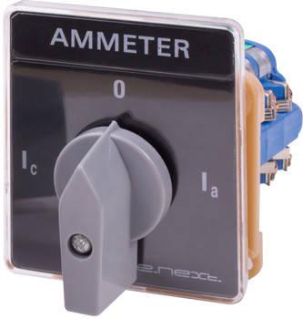 Переключатель амперметра щитовой e.switch.a20