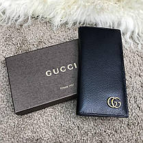 Gucci Long Wallet GG Marmont Black, фото 3