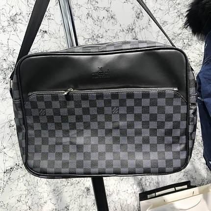 Messenger Louis Vuitton Dayton Reporter MM Damier Graphite, фото 2