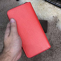 Gucci Print leather Future Zip Around Wallet Red, фото 3