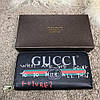 Gucci Print leather Future Zip Around Wallet Black, фото 6