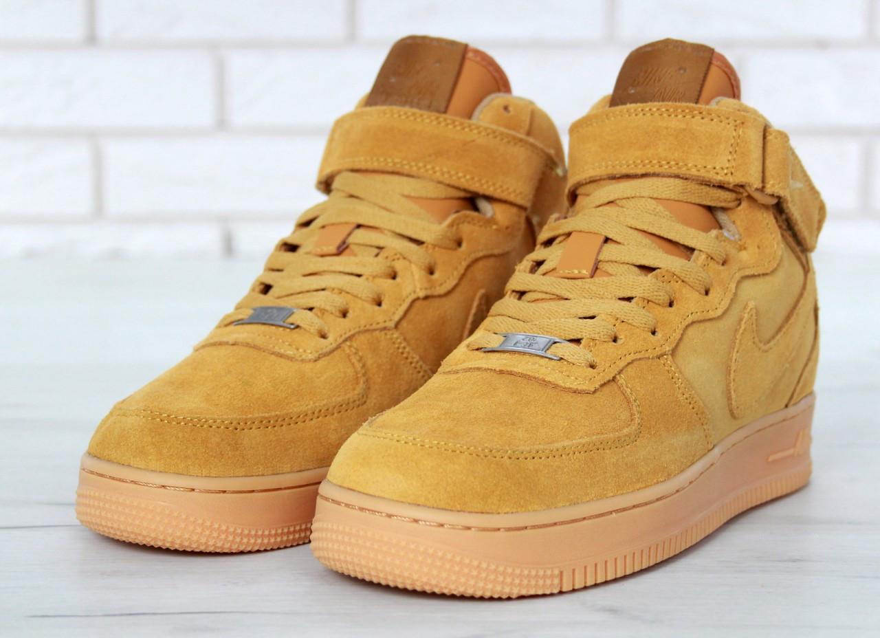Кроссовки Nike Air Force с мехом - Магазин брендовой обуви Sneakers в Ровно 05111098ad1