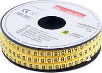 """Маркер кабельный e.marker.stand.2.4.B, 2-4 кв.мм, """"B"""", 500 шт"""