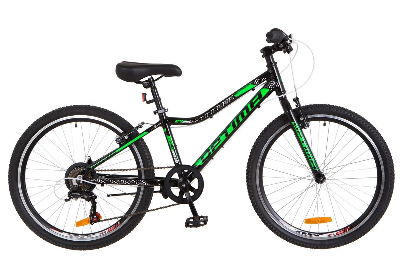 """24"""" Optimabikes BLACKWOOD 2018 (черно-зеленый )"""