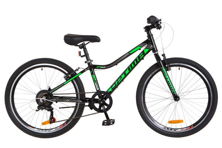 "24"" Optimabikes BLACKWOOD 2018 (черно-зеленый ) , фото 2"