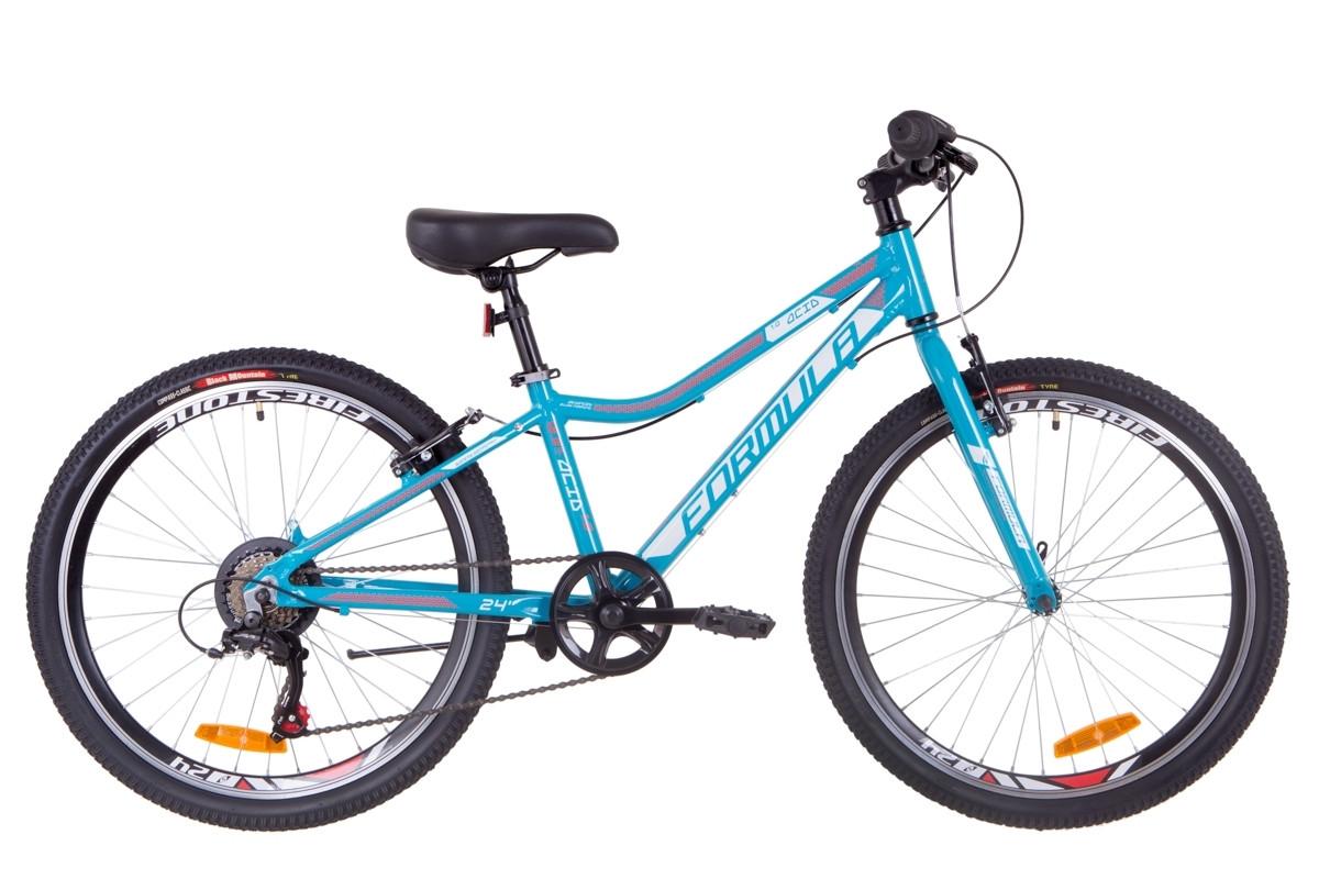 """Велосипед 24"""" Formula ACID 1.0 14G Vbr Al 2019 (аквамарин)"""