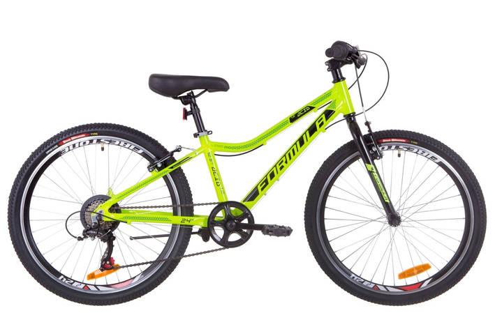 """Велосипед 24"""" Formula ACID 1.0 14G Vbr Al 2019 (салатно-черный с бирюзовым), фото 2"""