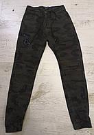 КАМУФЛЯЖНЫЕ брюки ДЖОГГЕРЫ для мальчиков Seagull 134 p.p., фото 1