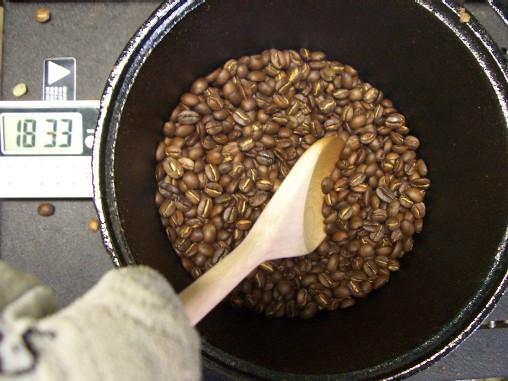 как пожарить кофе насковроде