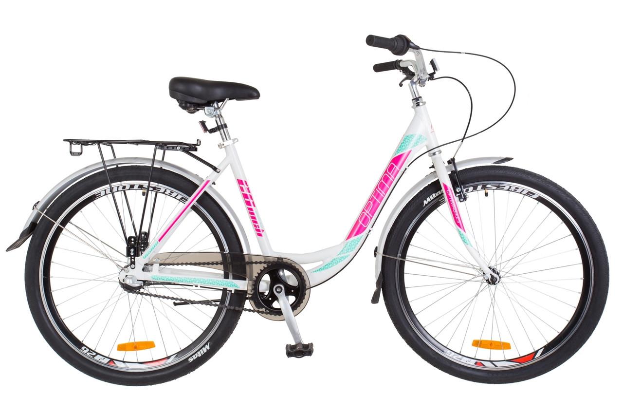 "26"" Optimabikes VISION PH 2018 (бело-розовый с голубым (м))"
