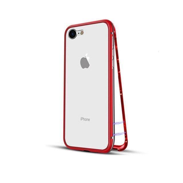 b009f0c49ee3 Магнитный чехол для iPhone XS MAX, Magnetic Case для Айфон XS MAX цвет  Красный -