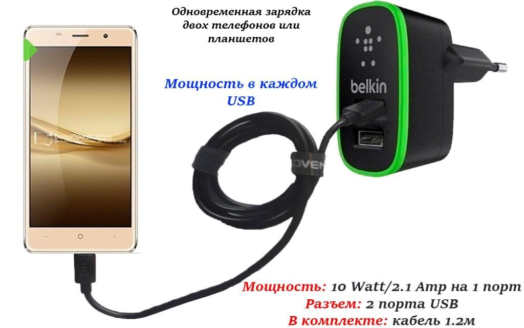 Сетевое зарядное устройство для Leagoo M5