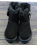 Черные замшевые угги Sopra, фото 2