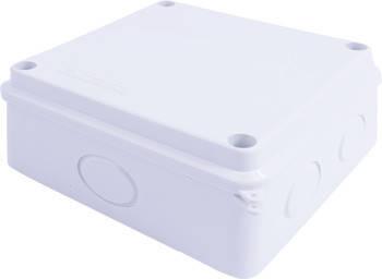 Монтажная коробка e.db.pro.oe.100.100.70, IP 65, без отверстий для ввода