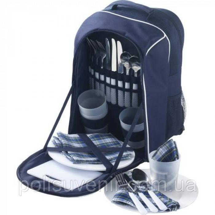 Стильный рюкзак для пікніка на 4 персони