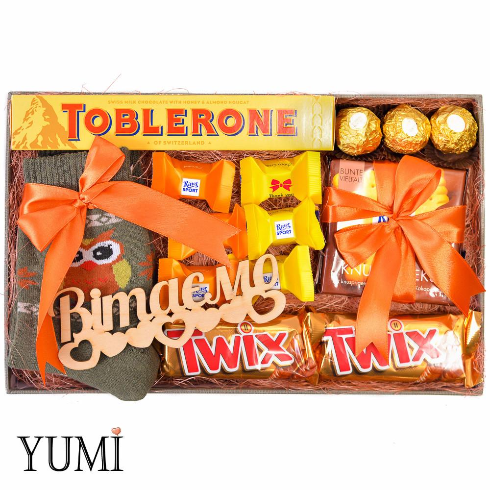 Подарочный набор со вкусностями