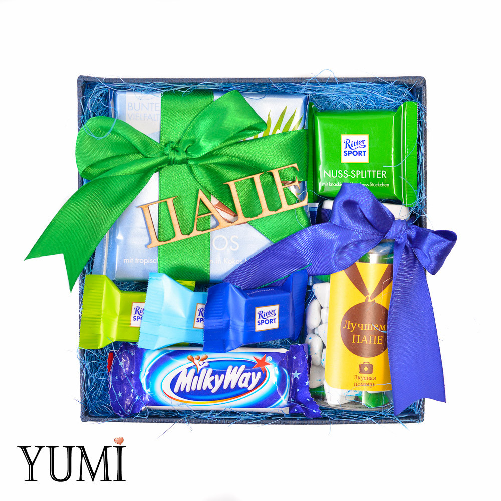 Подарочный сладкий набор для папы