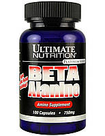 Предтренировочник Ultimate Nutrition Beta Alanine 750 mg (100 caps)