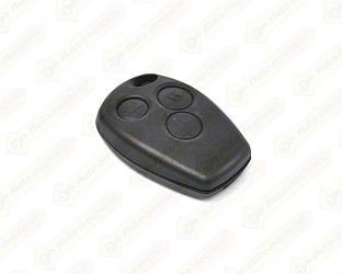 Корпус ключа БЕЗ язычка, на 3 кнопки на Renault Master III2010->  — DSP (Китай) - 291004B