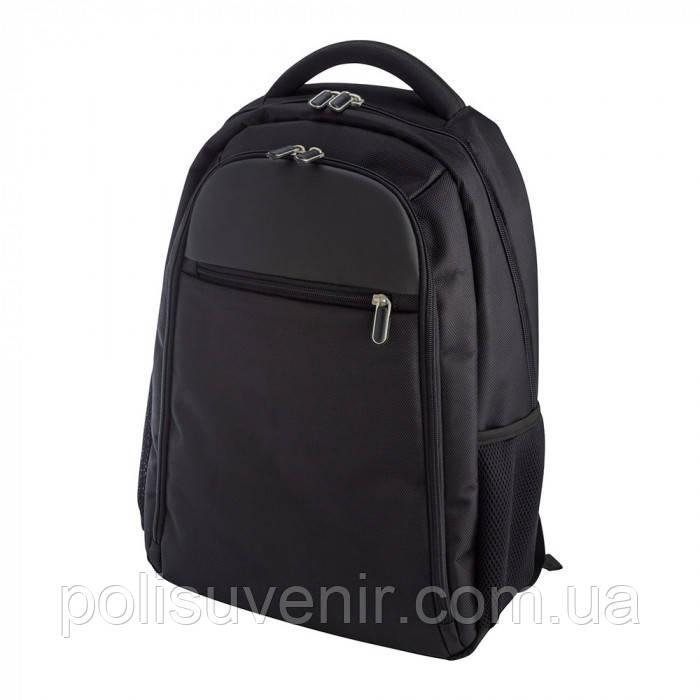 """Рюкзак чорний для ноутбука """"15"""""""