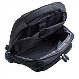 "Рюкзак чорний для ноутбука ""15"", фото 3"