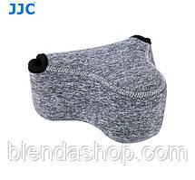 Защитный футляр - чехол JJC OC-S2BG для камер Canon EOS M, M2, M3, M10, M100 с объективом 18-55mm