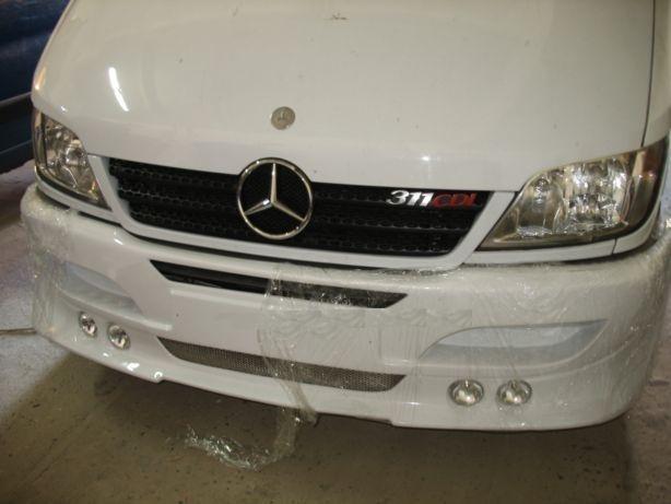 Бампер на Mercedes Sprinter