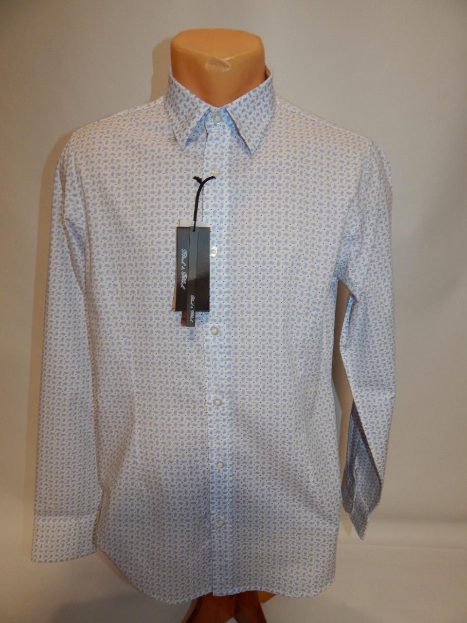 Мужская рубашка с длинным рукавом Back to Black сток  145ДР р.46
