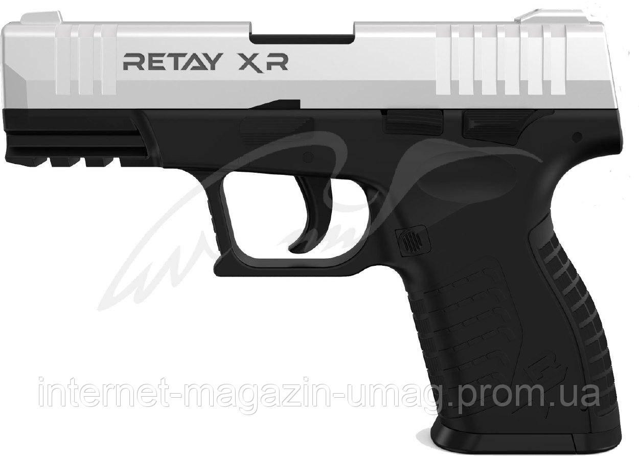 Пистолет стартовый Retay XR, 9 мм, хром