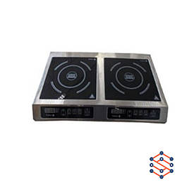 Плита 2-х конфорочная индукционная, настольная (710 *445*110)