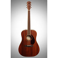 Акустична гітара FENDER PM-1 DREADNOUGHT ALL MAHOGANY WITH CASE NATURAL, фото 1