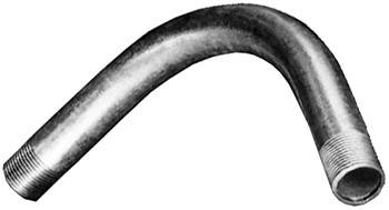 """Угловой металлический соединитель e.industrial.pipe.thread.angle.1"""", 90 град. с резьбой"""