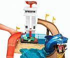 Трек Hot Wheels BGK04 Атака акулы (Охота на акулу). Оригинал Mattel, фото 5