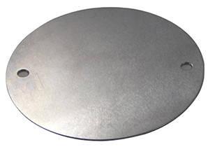 Крышка круглая к коробке монтажной  металлической e.industrial.pipe.db.round.cover