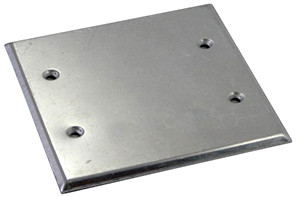 Крышка к коробке монтажной  металлической e.industrial.pipe.db.cover