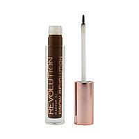 Гель для бровей Makeup Revolution Brow Revolution - Dark Brunette, фото 1